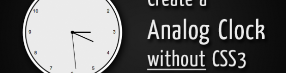 Creating a Clock Animation Without CSS3