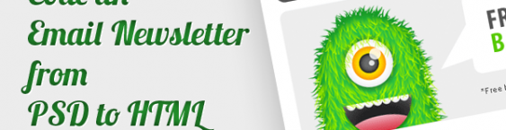 Code an Email Newsletter from PSD to HTML