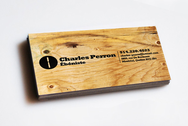 unique business card