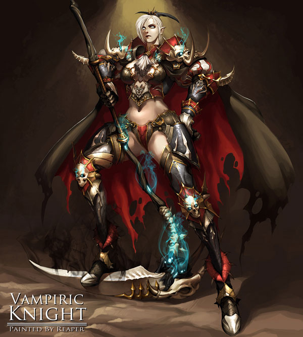 Female Vampiric Knight